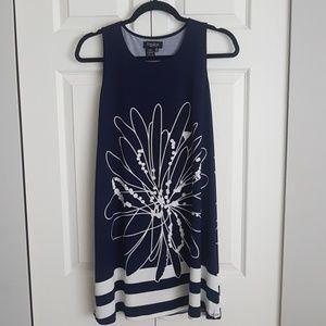 Dresses & Skirts - Navy and white Papillon mini dress